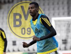 Alexander Isak spielt demnächst für den BVB