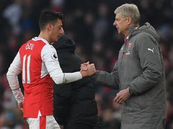 Hohe Wertschätzung für Schützling Özil von Arsenal-Coach Wenger