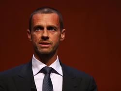 El presidente de la UEFA, Aleksander Ceferin. (Foto: Getty)