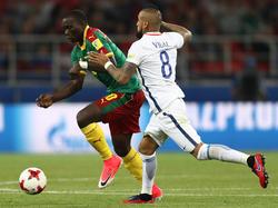 Arturo Vidal (r.) erzielte das zwischenzeitliche 1:0 für seine Chilenen