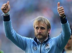 Daniel Bierofka kann sich auf die Rückkehr ins Stadion an der Grünwalder Straße freuen