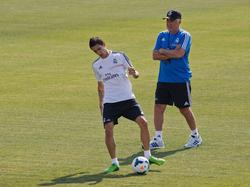 Carlo Ancelotti hatte auch Ángel di María auf dem Zettel