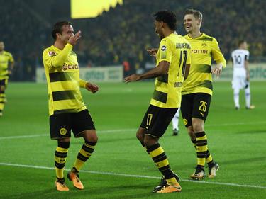 Der BVB feierte einen 6:1-Sieg gegen Borussia Mönchengladbach