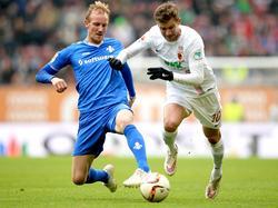 Daniel Baier (r.) hat bereits 181 Bundesligaspiele absolviert