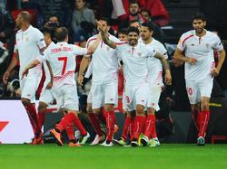 Titelverteidiger Sevilla hält Kurs aufs Halbfinale