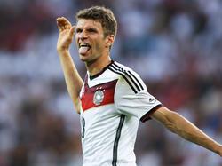 2010 war er der beste Jungspieler des Turniers: Thomas Müller