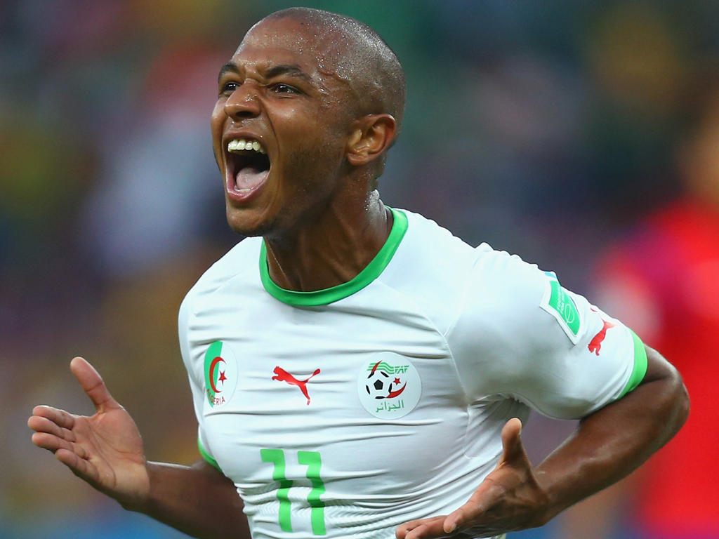 Football News Algeria s Brahimi voted BBC African player of
