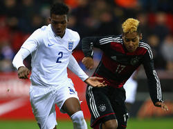 Die englische U17 besiegt Deutschland