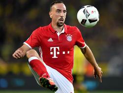 Franck Ribéry ist ein Hitzkopf
