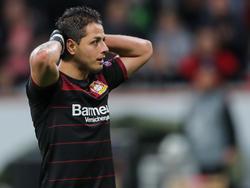 Javier Hernández steckt in einem Formtief