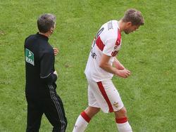Simon Terodde fehlt dem VfB Stuttgart mit einem Nasenbeinbruch
