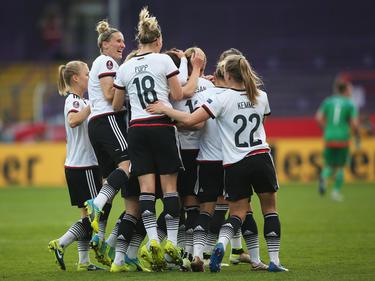 Die DFB-Damen lösten durch das 2:0 das Ticket zur EM