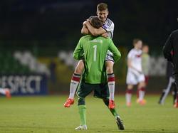 Die DFB-Junioren greifen nach dem Titel