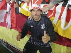 Lukas Podolski sieht sich als Unikat