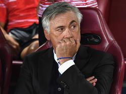 Carlo Ancelotti kassierte seine erste Niederlage als FCB-Trainer