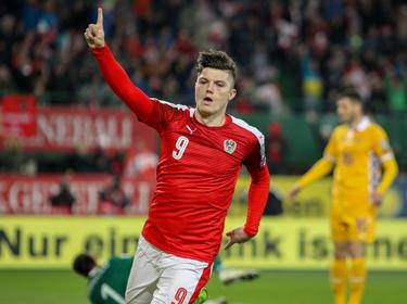 Marcel Sabitzer erzielte die Führung für das ÖFB-Team