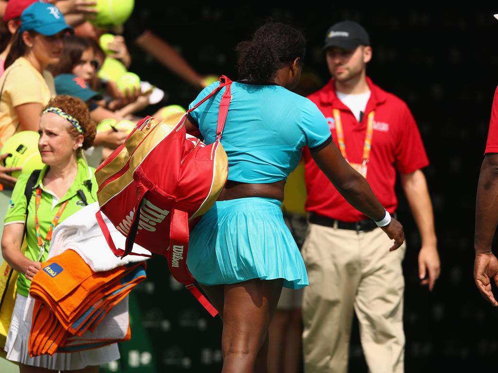 Serena Williams kann nicht in Madrid spielen