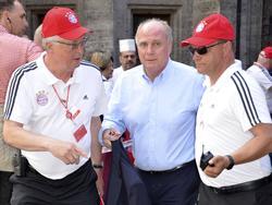 Neuer und alter starker Mann beim FC Bayern: Uli Hoeneß