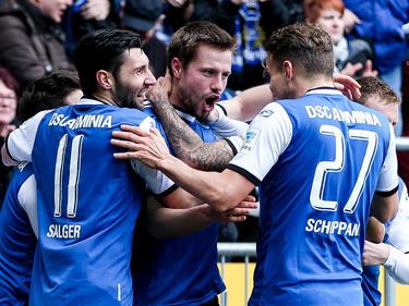 Bielefeld bejubelte einen wichtigen Sieg im Abstiegskampf