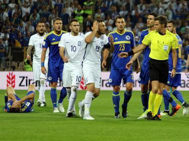 Heftige Eskalation in der WM-Quali zwischen Bosnien und Griechenland