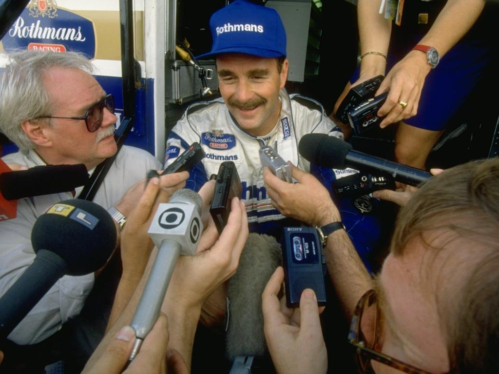 Nigel Mansell - 187 Starts