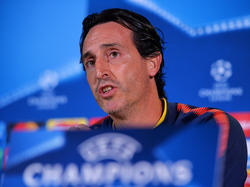 Unai Emery en una rueda de prensa reciente. (Foto: Getty)