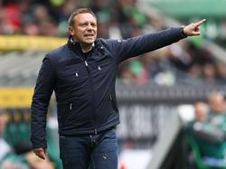 André Breitenreiter hofft auf die Unterstützung der Fans