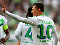 Julian Draxler freut sich gegen Ingolstadt über sein drittes Saisontor