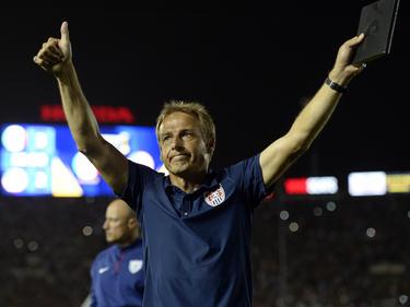 Jürgen Klinsmann sieht sein Team auf dem richtigen Weg