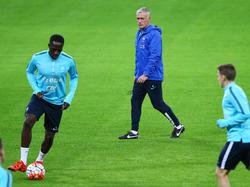 Didier Deschamps ist der Trainer der französischen Nationalmannschaft