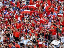 Die Fans der chilenischen Nationalmannschaft sind einmal mehr negativ aufgefallen