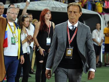 Christoph Daum trainiert die Nationalmannschaft Rumäniens