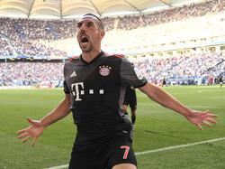 Franck Ribéry ist nach längerer Verletzungspause zurück beim FC Bayern