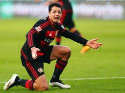 Javier Hernández gehört zu den schlechtesten Elfer-Schützen von  Bayer Leverkusen