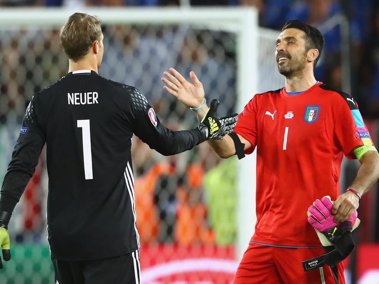 Gigi Buffon und Manuel Neuer sind seit Jahren die bestimmenden Torhüter im Weltfußball