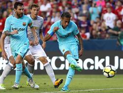 Neymar schoss Barcelona zum Sieg über Manchester United