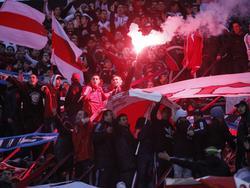 Die Fans von River Plate geben immer alles - besonders im Superclásico gegen Boca