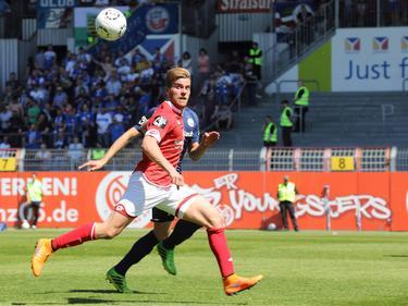 Lucas Höler soll in der kommenden Saison für den SV Sandhausen treffen