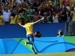 Auch gegen Deutschland möchte Neymar gern ausgiebig jubeln