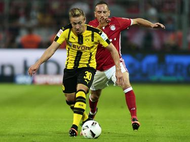 Felix Passlack (v.) überzeugte auf Anhieb im Supercup