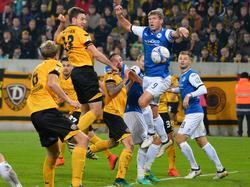 Die Arminia erkämpft sich einen Sieg in Dresden