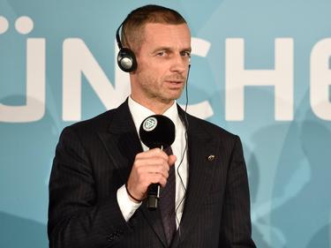 Der neue UEFA-Präsident äußert deutliche Kritik