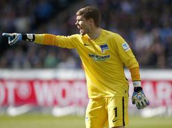 Thomas Kraft bleibt die Nummer zwei im Tor der Hertha