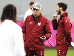 Carlo Ancelotti steht bei Bayern München auf dem Prüfstand