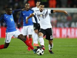 Sami Khedira war mit dem Auftritt der DFB-Elf zufrieden
