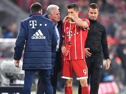 Bayern-Coach Jupp Heynckes setzt auf Robert Lewandowski