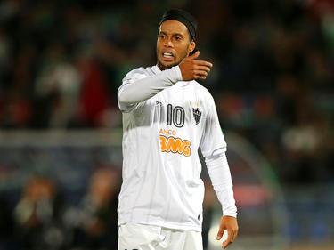 Ronaldinho war bei Atlético Mineiro diesmal keine auffällige Erscheinung