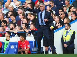 José Mourinho steht Medienberichten zufolge bald bei Manchester United an der Linie