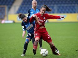 Die FCB-Frauen hatten gegen Hoffenheim die Oberhand