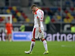 André Hoffmann fehlt Fortuna Düsseldorf ein Spiel gesperrt